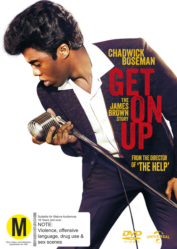 Get On Up on DVD