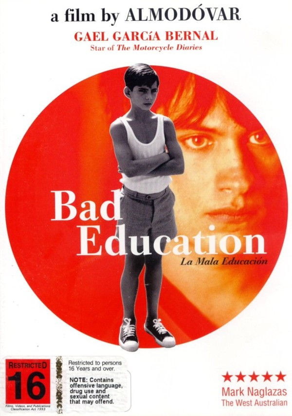Bad Education (la Mala Education) on DVD image