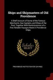 Ships and Shipmasters of Old Providence image