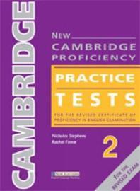 New Cambridge Proficiency Practice Tests 2 by Rachel Finnie image