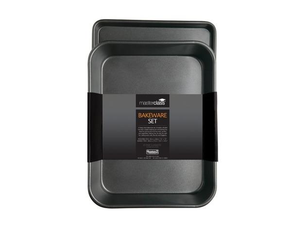 MasterClass: Non-Stick Bakeware Twin Pack (34cm)