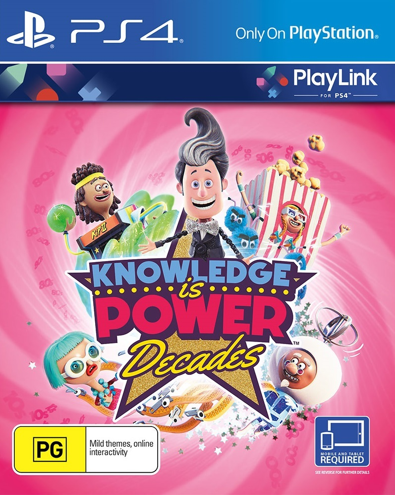 Knowlede is Power: Decades for PS4 image