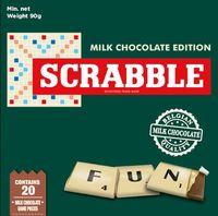 Milk Chocolate Scrabble 90g