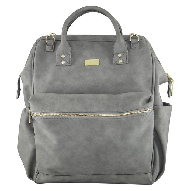 Isoki: Nappy Bag Byron XL Backpack - Stone