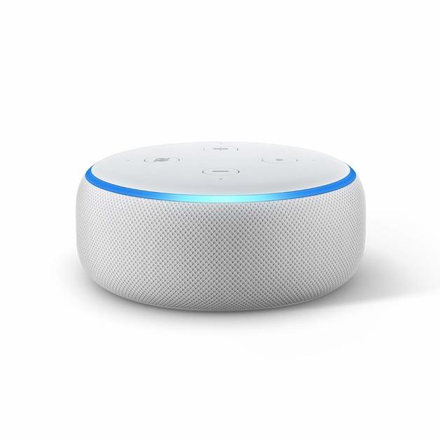 Amazon: Echo Dot 3rd Generation/Speaker - Sandstone (White)