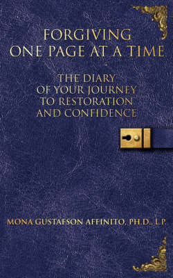 Forgiving One Page At A Time by Mona Gustafson Affinito image