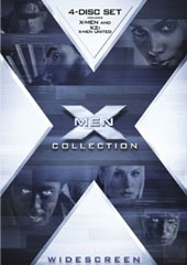 X-Men X-Traordinary Box Set ( X Men 1.5 & X Men 2) (4 Disc Set) on DVD