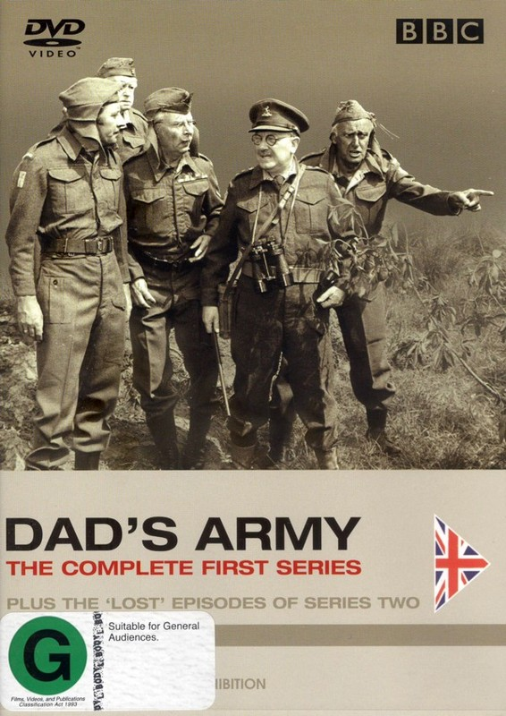 Dad's Army - The Complete 1st Series Plus The 'Lost' Episodes Of Series Two (2 Disc Set) on DVD
