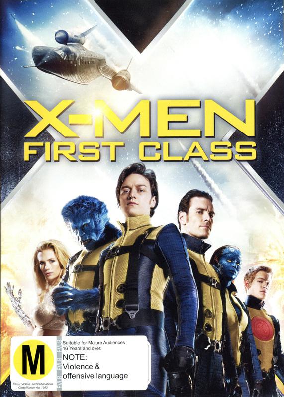 X-Men: First Class on DVD