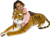 Melissa & Doug: Tiger Giant Stuffed Animal Plush