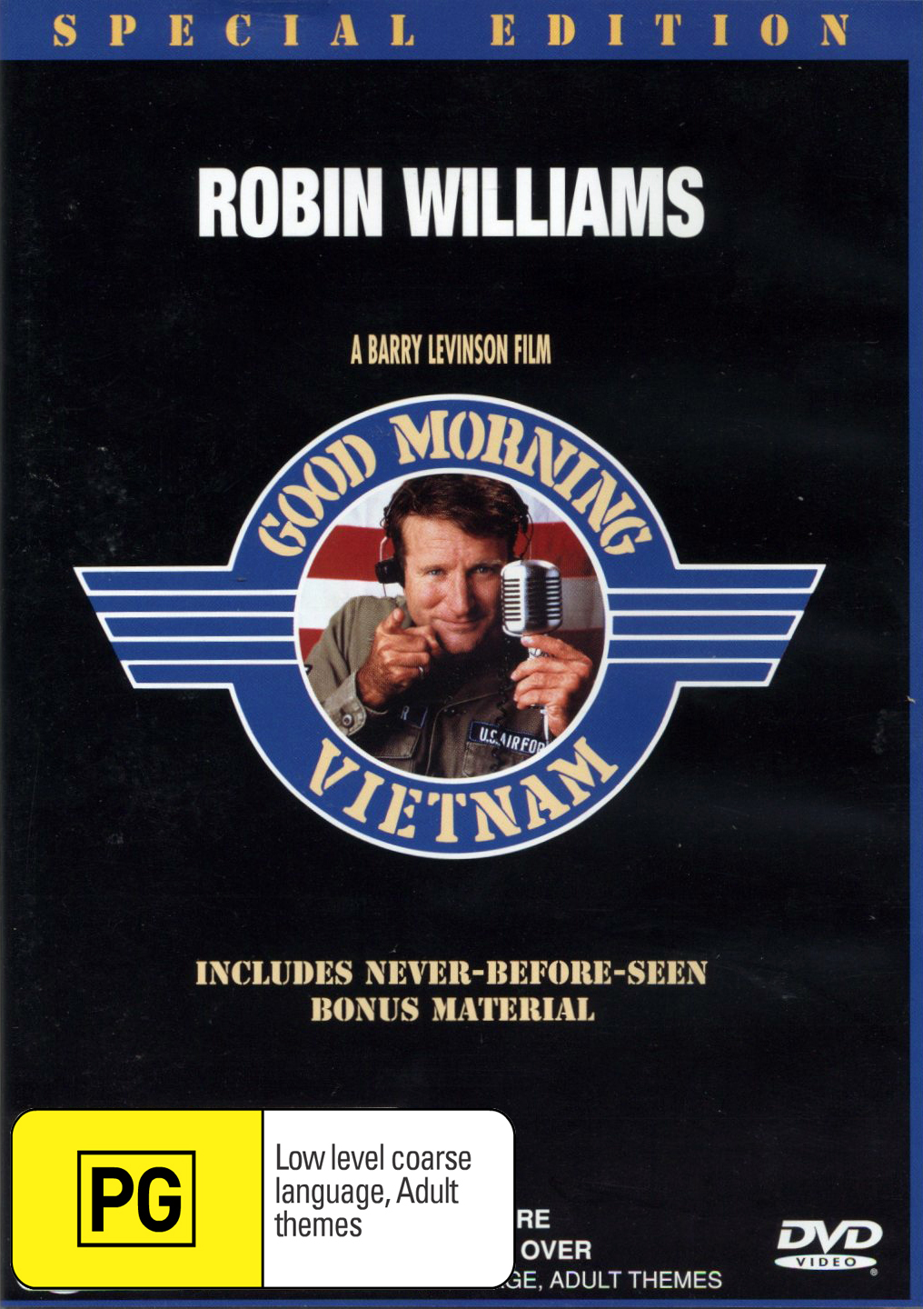 Good Morning Vietnam - Special Edition on DVD image
