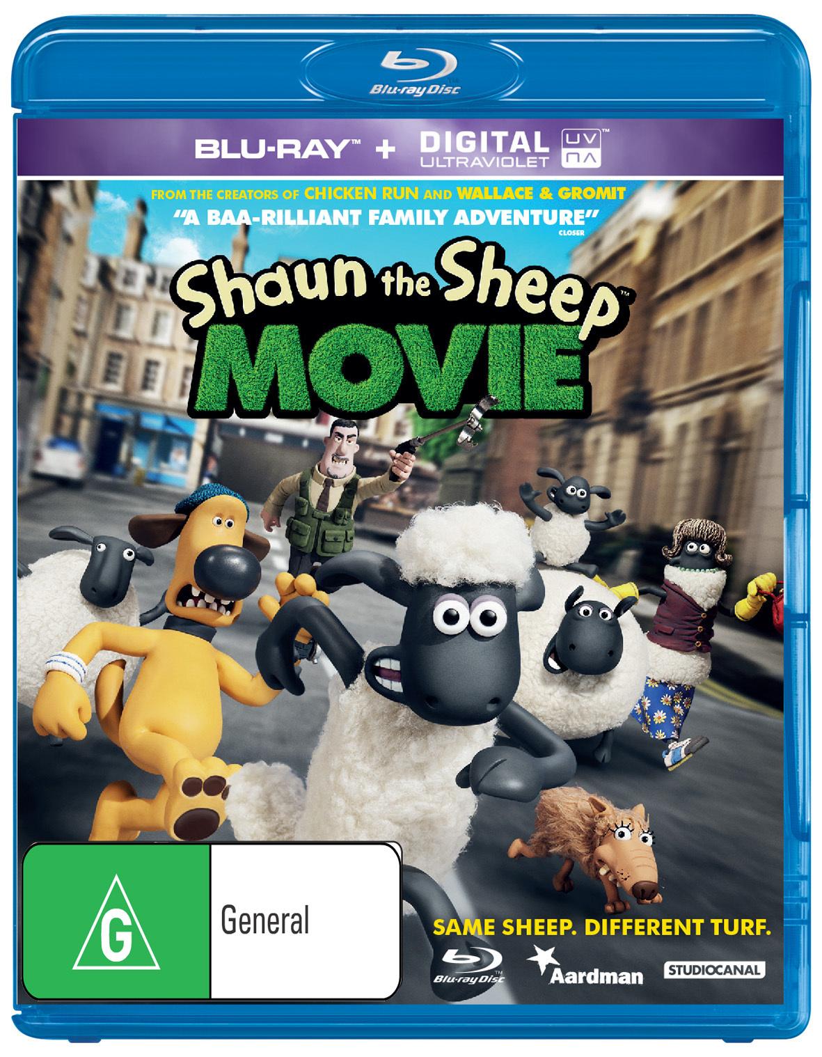Shaun the Sheep Movie on Blu-ray image