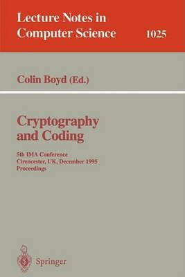Cryptography and Coding image