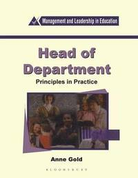 Head of Department by Anne Gold
