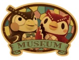 Animal Crossing: Travel Luggage Sticker - Museum #5