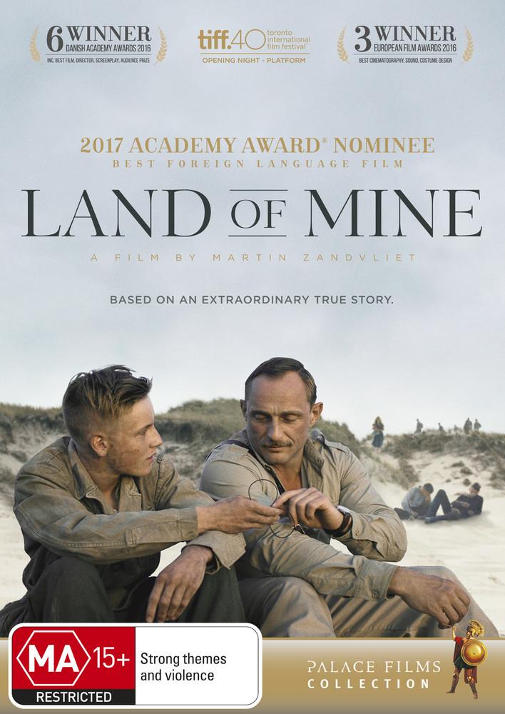 Land of Mine on DVD image