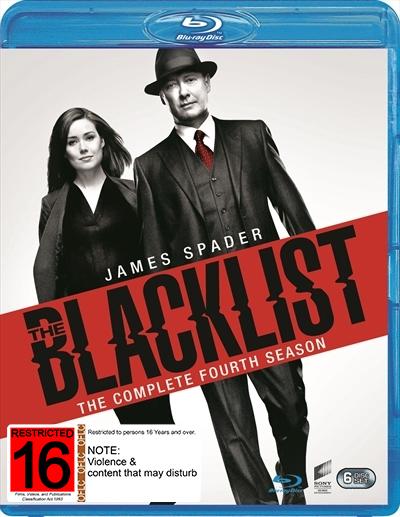 The Blacklist - Season Four on Blu-ray