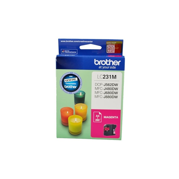 Brother LC-231M Ink Cartridge (Magenta)