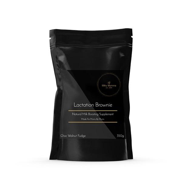 Milky Mumma Lactation Support Brownie - Choc Walnut Fudge (300g)