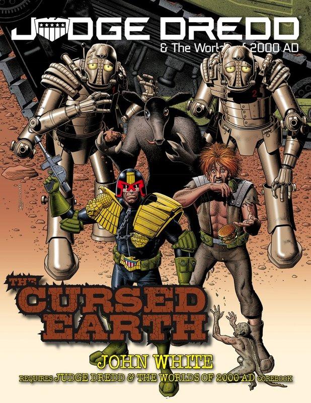 Judge Dredd RPG: Cursed Earth
