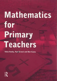 Mathematics For Primary Teachers image