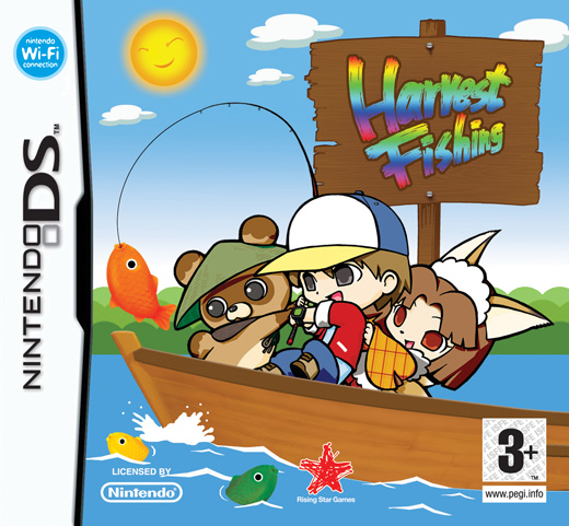 Harvest Fishing (AKA River King: Mystic Valley) for DS image