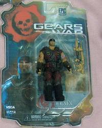 Gears of War Marcus Fenix Bloody Variant Action Figure - Series 2