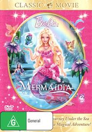 Barbie: Mermaidia on DVD image