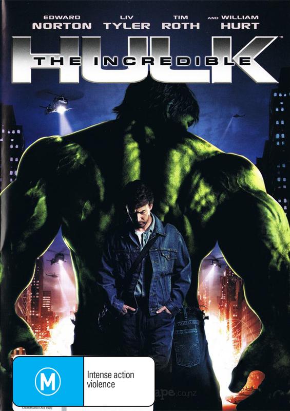 The Incredible Hulk (2008) on DVD