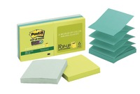 Post-it Super Sticky Pop-up Notes - Bora Bora (Pack of 6)
