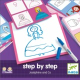 Djeco: Learn To Draw - Step By Step Josephine