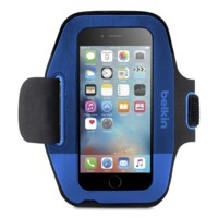 Belkin Sport-Fit Armband for iPhone 6/6S - Blueprint/Marina Blue