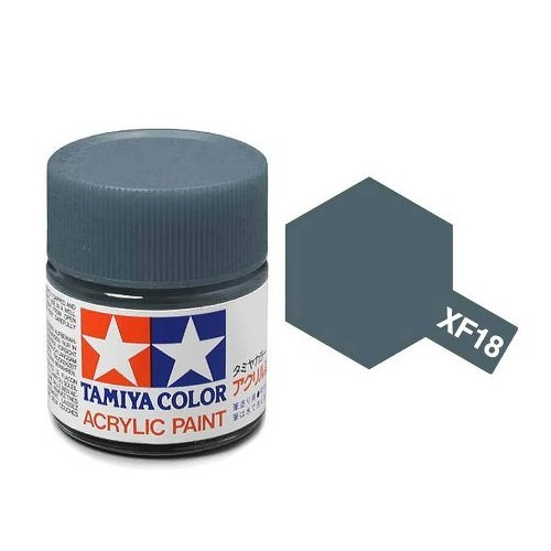 Tamiya Acrylic: Medium Blue (XF18)