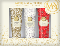 Morlage & Yorke Luxury Gift Set - Frangipani, Blue Lotus and Moroccan Rose (3 x 30ml)