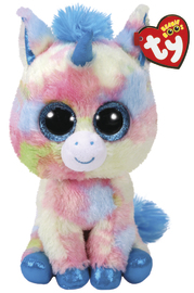Ty Beanie Boo: Blitz Unicorn - Large Plush