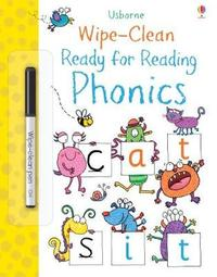 Wipe-Clean Ready for Reading Phonics by Jane Bingham