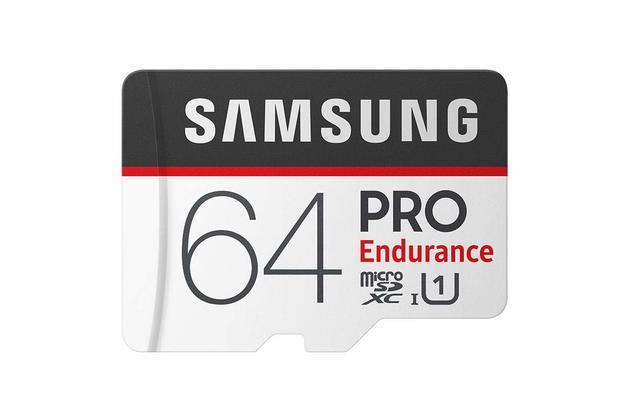64GB Samsung PRO Endurance micro SDHC