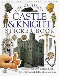 Castle & Knight Ultimate Sticker Book by DK image
