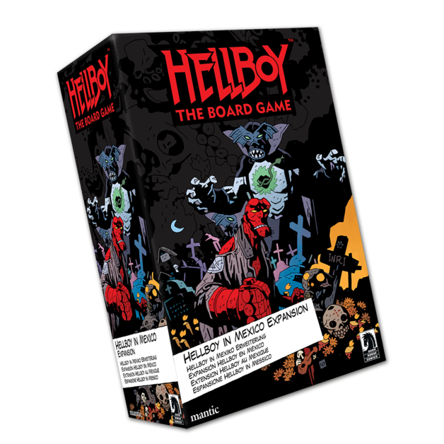 Hellboy The Board Game: Hellboy in Mexico Expansion
