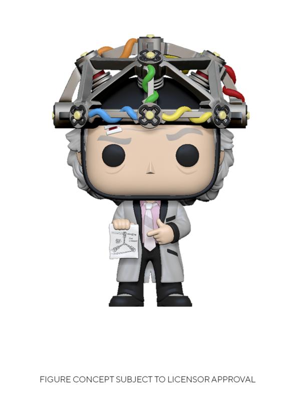Back to the Future: Doc (with Helmet) - Pop! Vinyl Figure