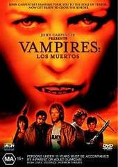 Vampires: Los Muertos (John Carpenter's) on DVD