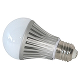 Pure White LED Light Bulb, E27 screw base 7w 620lm