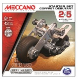 Meccano Motorcycle Starter Set - 1 Model