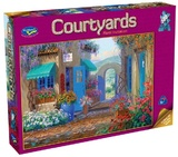Holdson 500pce Puzzles - Courtyards - Floral Invitation