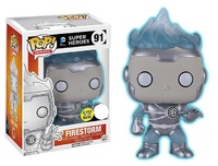 DC Comics - White Lantern Firestorm (Glow) Pop! Vinyl Figure