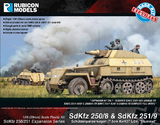 Rubicon 1/56 SdKfz 250/8 & 251/9 Expansion Set