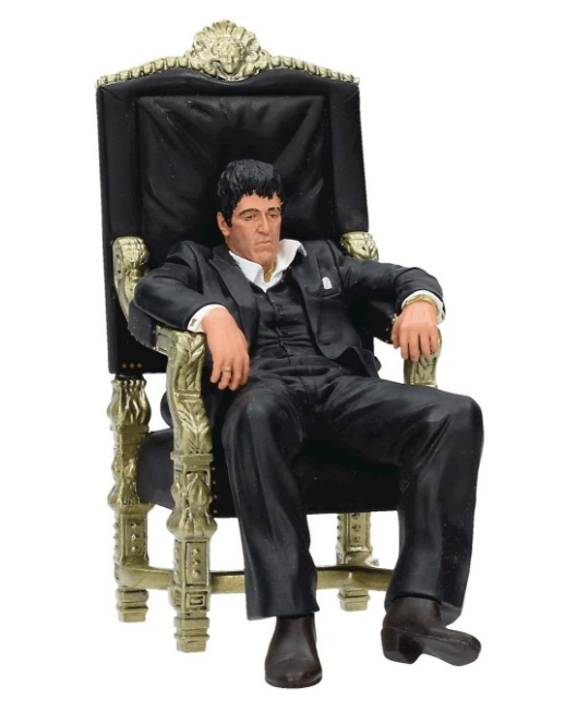 "Scarface: Tony Montana (In Chair) - 10"" Diorama"