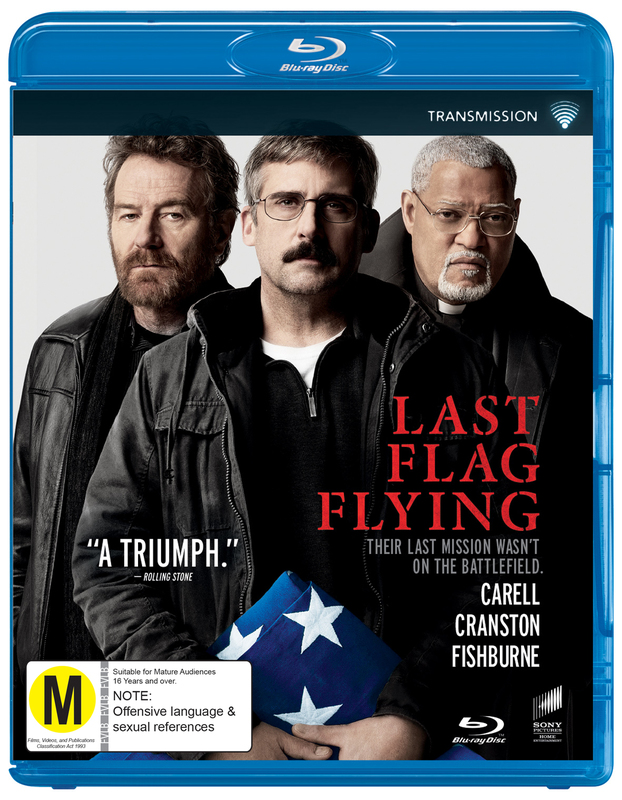 Last Flag Flying on Blu-ray