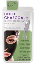 The Skin Republic: Superfood Detox & Charcoal Face Sheet Mask