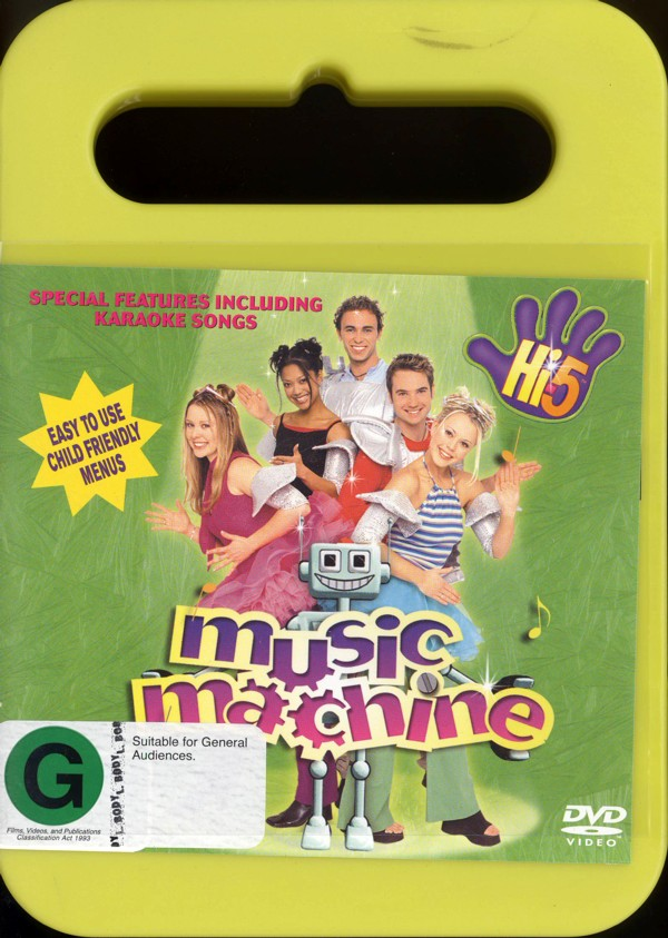 Hi-5 - Music Machine on DVD image